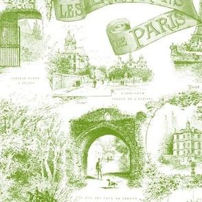 Les Environs de Paris ~ Toile de Jouy ~ Bracken