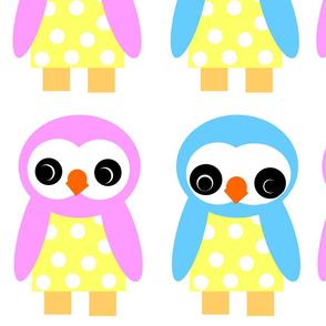 Wee Bird doll patterns