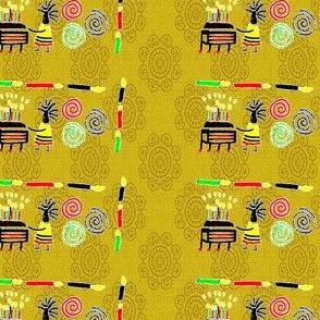 Kwanzaa Movement-Gold-298
