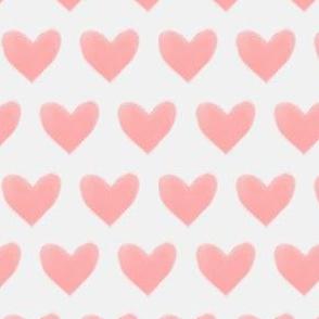 Watercolor Pink Heart