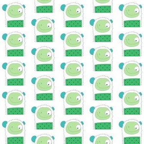 hohotize - green/blue-ch