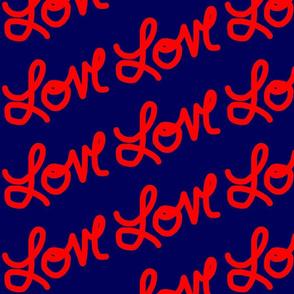 Navy Love in Red-ed