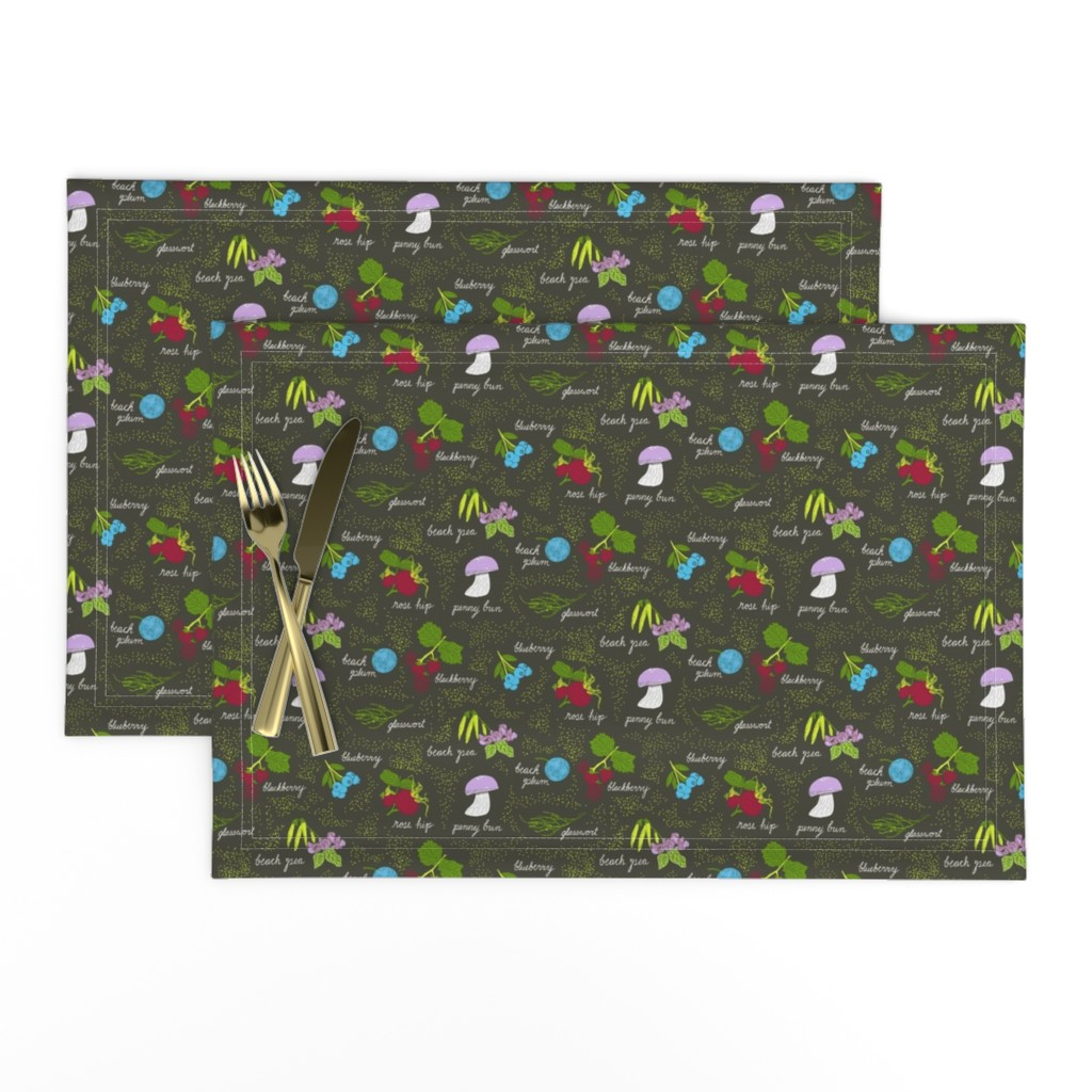 Lamona Cloth Placemats featuring  A hike in the dunes by nlsd