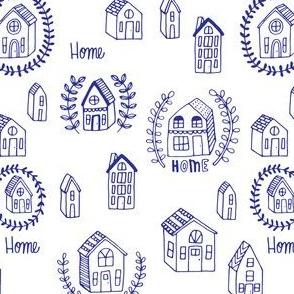 home - cobalt blue