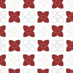 Atom - in red