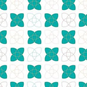 Atom - in teal