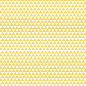 Space Triangles - Yellow
