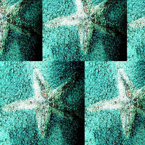 Starfish Crystals Aqua