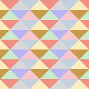 Ice Cream Parlor ~ Modernist Triangles