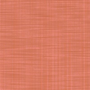 Lady Hamilton ~ Coral ~ Solid ~ Linen Luxe