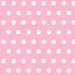 Pink and White Polkadot Girl
