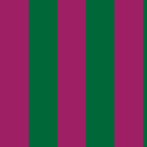 green and red stripes