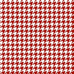 The Houndstooth Check ~  Turkey Red ~ Adrianople