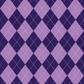 Argyle (purple) - 1.5in