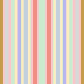 Ice Cream Parlor Stripe