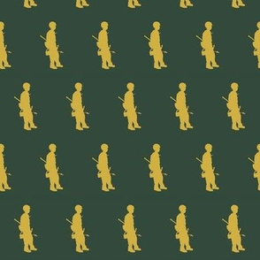 Wildland Firefighter Green Fabric