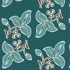batik-2sprig4x7-mgrn180-4th-dkbrn-on-dkgrnblpattern150_copy
