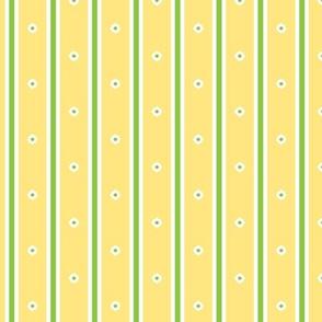 Lemon Blossom Stripe