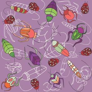 Beetle Bug Purple