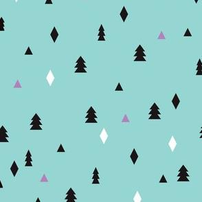 Lovely little scandinavian christmas tree