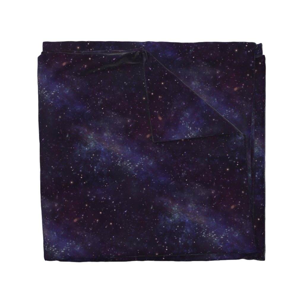Wyandotte Duvet Cover featuring Sidereus Nebula by cellesria