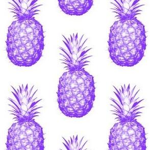 Purple Pineapples - Medium tiling pattern