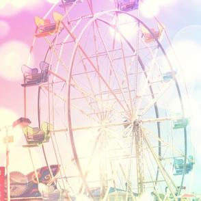 Dreamy Ferris wheel