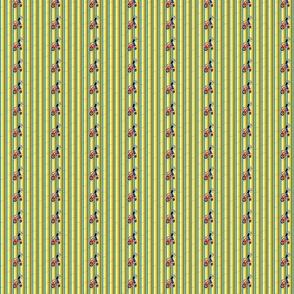 Feed Sack Girl-Stripe-304