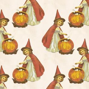 Vintage Halloween Child