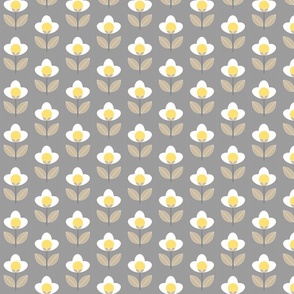 Tulip Grey and Yellow