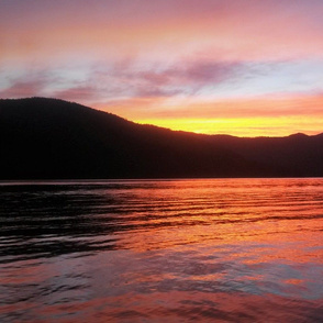 Priest Lake Sunset