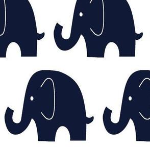 Jumbo Navy Elephants