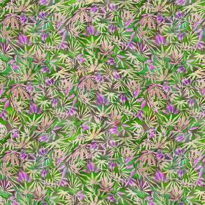 420 Little Lavender Leaves