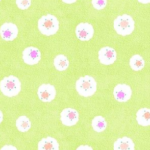 lime_cotton_wool_flowers