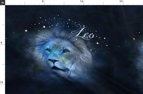 Fabric By The Yard Leo The Lion