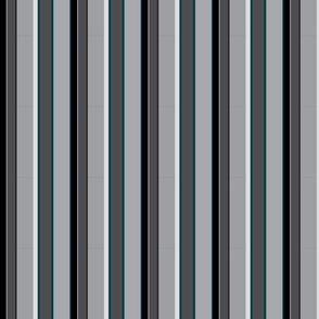 Noctunal Teal Stripes