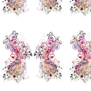 swirly butterfly