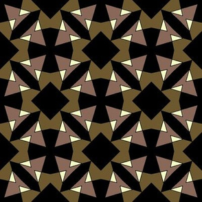 Abstract Geometric Crosses and Squares