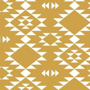 Navajo - Gold White