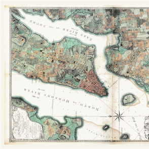 NYC_Vintage_Map_Tea_Towel_fatquarter