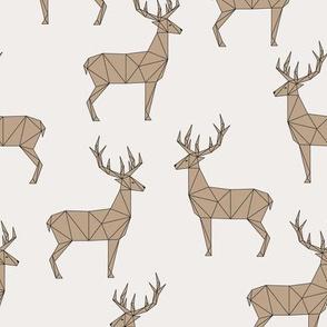 Deer - Light Beige Brown