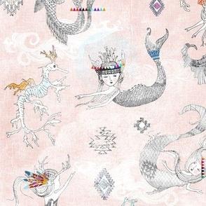 Boho Maids + Dragons