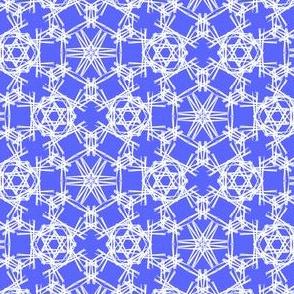 Starry Doodle Cobalt Tint