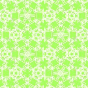 Starry Doodle Warm Green