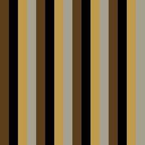 Steampunk Multi Stripes - Vertical