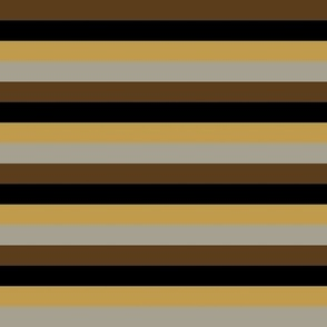 Steampunk Multi Stripes - Horizontal