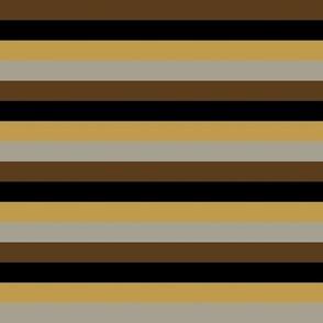Steampunk Multi Stripes - Horizontal