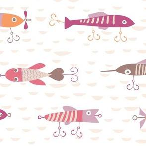 Fishing Lures Pinks