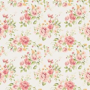 Vintage Rose Floral