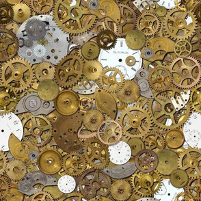 Steampunk Watch Parts Pile